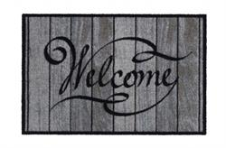 Smudsmåtte Ambiance i Welcome wood classic 50 x 75 cm