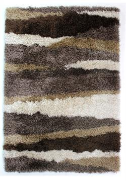 Flair Rugs Shaggy Santa Cruz Boardwalk bronze i 120 x 170 cm
