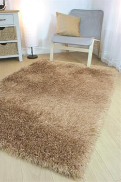 Flair Rugs Shaggy Glitz Beige
