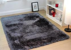 Flair Rugs Shaggy Glitz Charcoal