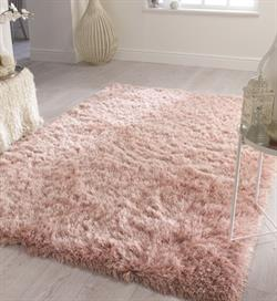 Flair Rugs Shaggy Glitz Pink