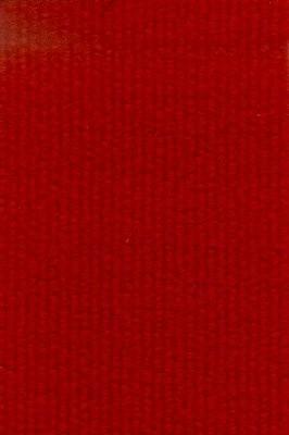 Moderigtigt Nålefilt tæppe i rød farve - væg til væg tæppe MY95