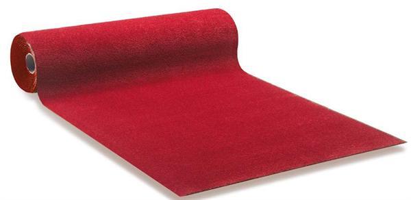 Pæn Rød løber i 100 cm hel rulle på 60 m - 1502900-1 - Din tæppekæde.dk HJ14