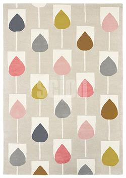 Scion Living Rugs Sula blush i 140 x 200 cm