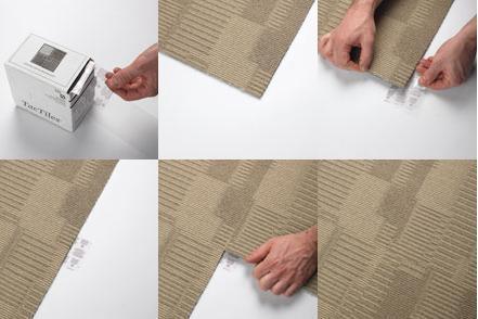 TacTiles selvklæb til Heuga tæppefliser - TacTiles selvklæb til ...